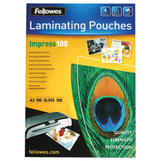 Fellowes Laminating Pouch A3 100 Micron (100)