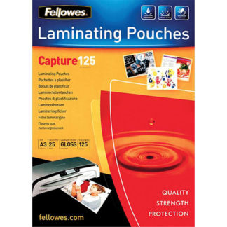Fellowes Laminating Pouch A3 125 Micron (25)