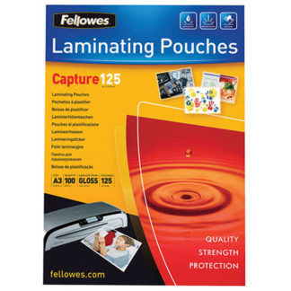 Fellowes Laminating Pouch A3 125 Micron (100)