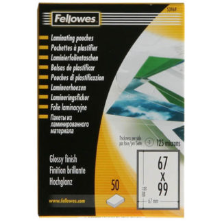 Fellowes Laminating Card Pouch (50)