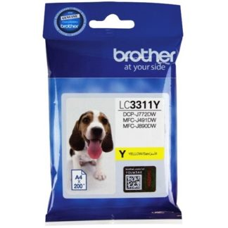 Brother Ink LC3311 Yellow