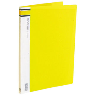 FM Display Book A4 Yellow 40 Pocket