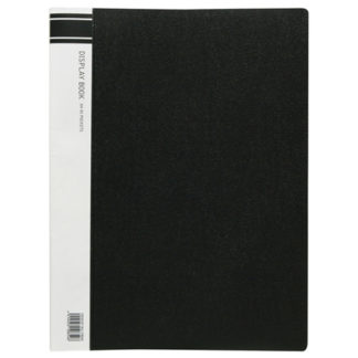 FM Display Book A4 Black 40 Pocket