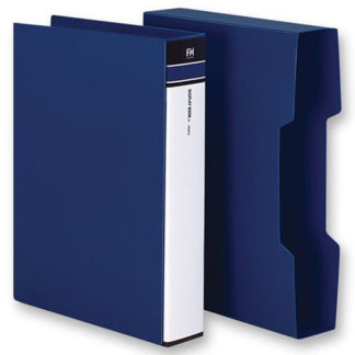FM Display Book A4 Blue 100 Pocket