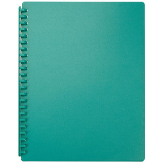 FM Display Book A4 Green - Refillable