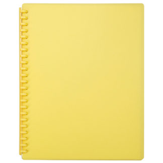 FM Display Book A4 Yellow - Refillable