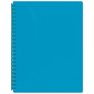 FM Display Book A4 Ice Blue - Refillable
