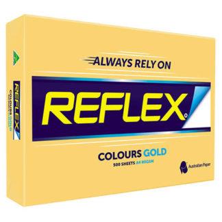 Reflex Paper A4 Gold Tint 80GSM