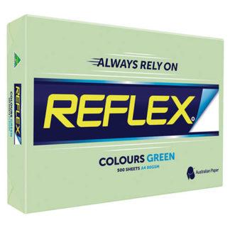 Reflex Paper A4 Green Tint 80GSM