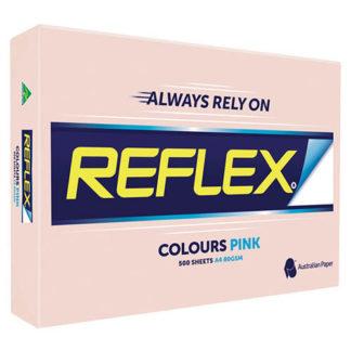 Reflex Paper A4 Pink Tint 80GSM