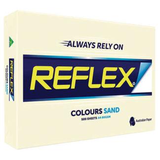 Reflex Paper A4 Sand Tint 80GSM