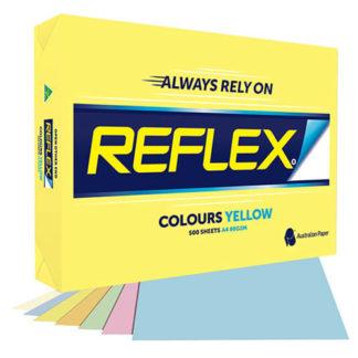 Reflex Paper A4 Yellow Tint 80GSM