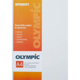 Olympic A4 Origin Iceberg 110GSM 50 Sheets