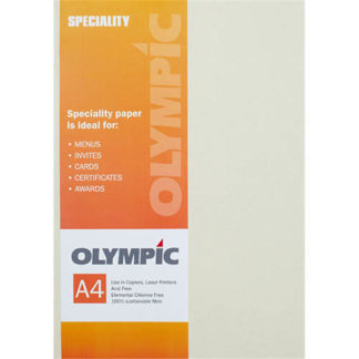 Olympic A4 Origin Sand 110GSM 50 Sheets