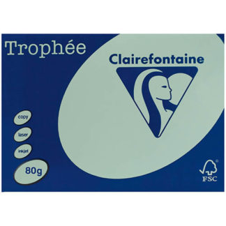 Trophee A4 Green 80GSM 500 Sheets