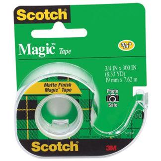 3M Tape Dispenser Scotch Magic 105 19X7.62M