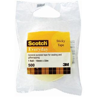 3M Tape Scotch Everyday 500 18mmx33M