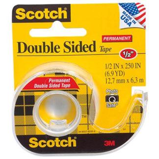 3M Tape Dispenser Scotch 136 Dble Side 12.7X6.35M