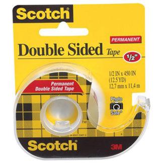 3M Tape Dispenser Scotch 137 Dble Side 12X11.4M