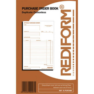 Rediform Book Purchase Order R/Purchbook