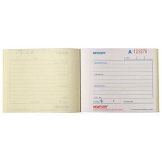 Rediform Book Receipt Small R/Recsml
