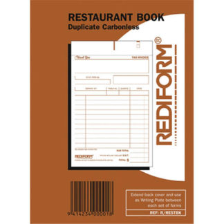 Rediform Book Restaurant R/Restbk