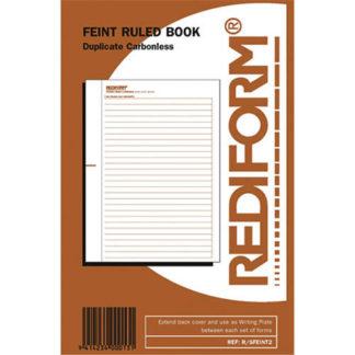 Rediform Book Feint Ruled R/Sfeint2 - 50 Leaf
