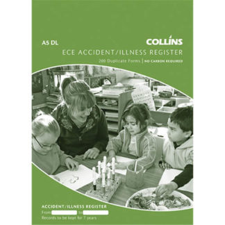 Collins Register Accident Illness A5DL - No Carbon