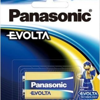 Panasonic Evolta 9 Volt Battery 1pk