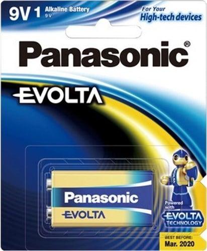Panasonic Evolta 9 Volt Battery 1pk