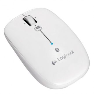 Logitech M557 Bluetooth Wireless Mouse - White