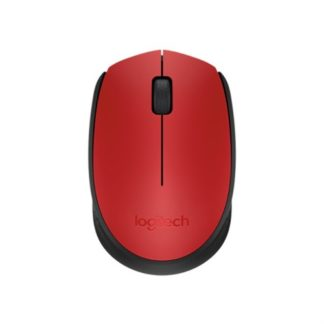 Logitech M171 USB Wireless Mouse - Red