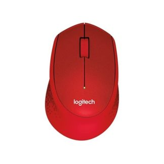 Logitech M331 Silent Plus USB Wireless Red
