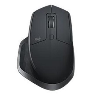Logitech MX Master 2S USB Wireless/Bluetooth Full Size Mouse Black