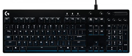 Logitech G610 Orion Blue Backlit Gaming Keyboard