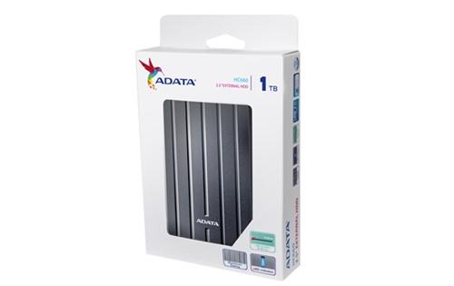 """ADATA HC660 Choice 2.5"""" USB 3.0 1TB Titanium External HDD"""