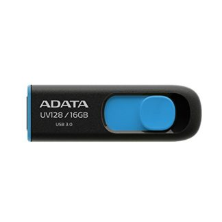ADATA UV128 Dashdrive Retractable USB 3.0 16GB Blue/Black Flash Drive