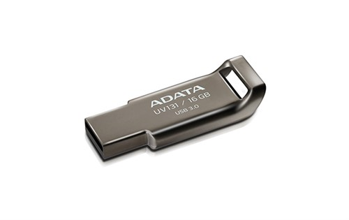 ADATA UV131 Classic USB 3.0 16GB Chromium Grey Flash Drive