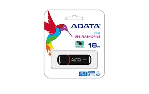 ADATA UV150 Dashdrive USB 3.0 16GB Black/Red Flash Drive