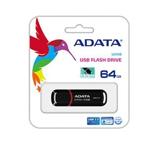ADATA UV150 Dashdrive USB 3.0 64GB Black/Red Flash Drive