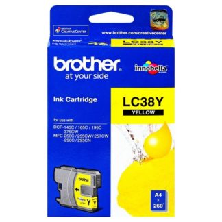 Brother Ink LC38 Yellow