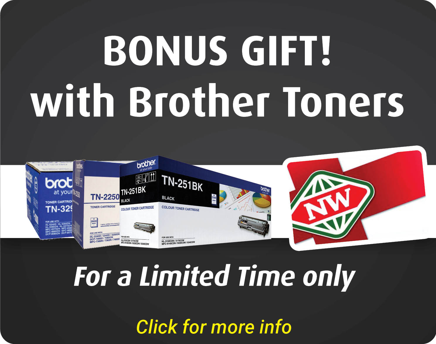 BD Brother toner Front page
