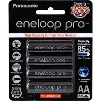Panasonic Eneloop PRO AA Rechargeable 4pk
