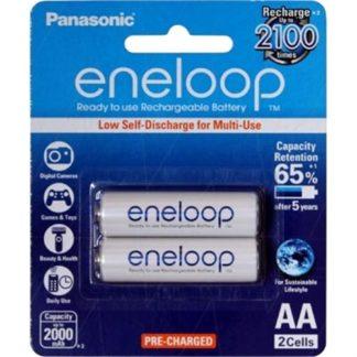 Panasonic Eneloop AA Rechargeable 2pk