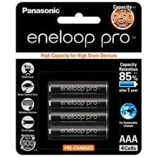 Panasonic Eneloop PRO AAA Rechargeable 4pk
