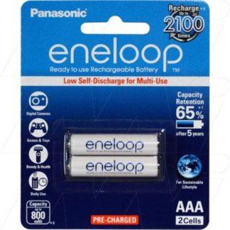 Panasonic Eneloop AAA Rechargeable 2pk