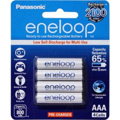Panasonic Eneloop AAA Rechargeable 4pk
