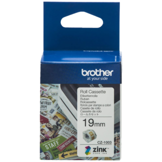 Brother CZ-1001 9mm Printable Roll Cassette