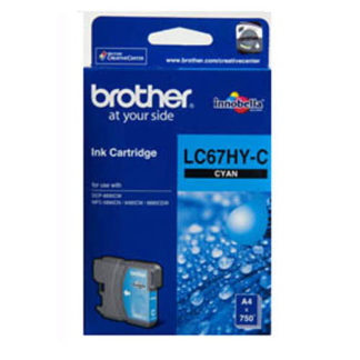 Brother Ink LC67HC Cyan