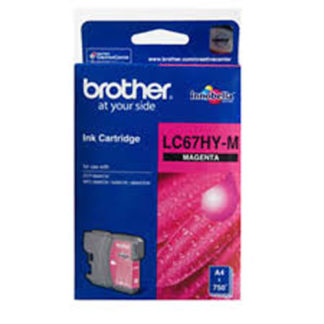 Brother Ink LC67HC Magenta